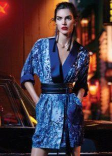 avond zomerjurk - kimono