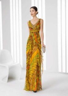 Vestido de cor de Rose Clara 2016