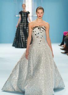 Vestido lindo de bola por Carolina Herera
