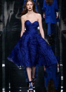 Vestido de noite azul 2016