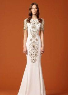 Vestido de formatura étnica