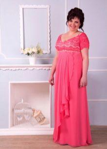 Vestido de noite para rosa