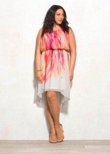 Cor vestido de noite para tamanho 54