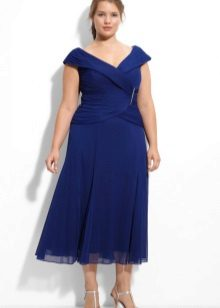 Midi vestido para tamanho 52