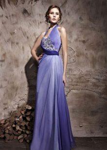 Vestido de noite lilás