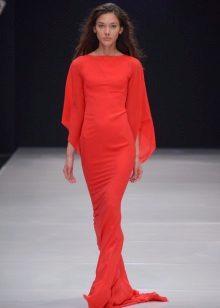Vestido Vermelho por Valentina Yudashkina