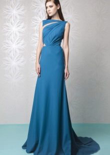 Vestido de noite azul por Tony Ward