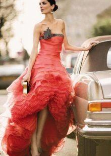 Vestido de noite magnífico de Armani