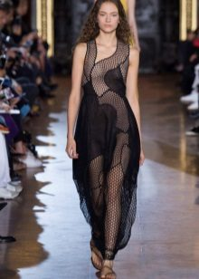 Mesh Gown