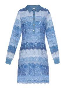 Blue at Blue Shirt Dress