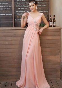 Pale Peach Coral Dress