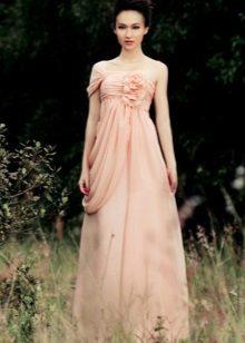 Coral Dress Pale Peach Hue