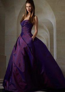 Eggplant Long Dress