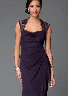 Eggplant color dress
