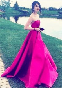 Fuchsia Long Dress