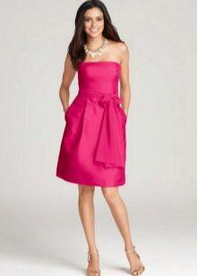 Midi Fuchsia Dress