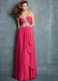 Fuchsia Evening Long Dress