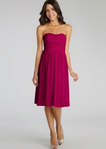 Fit for fuchsia dress