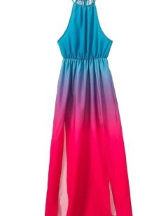 Dress fuchsia in combination with turquoise