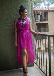 Turquoise Fuchsia Dress Accessories