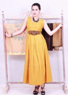 Mustard dress accessories