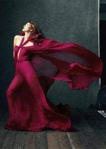 Crimson dress