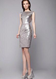 Ezüst szürke ruha