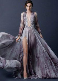 Gyönyörű szürke ruha