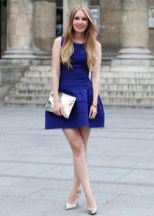 Koyu Mavi Elbise Ayakkabı