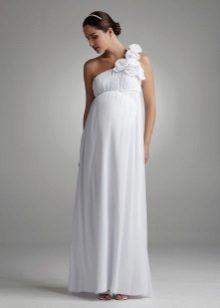 Рокля в гръцки стил за бременни жени в гръцки стил