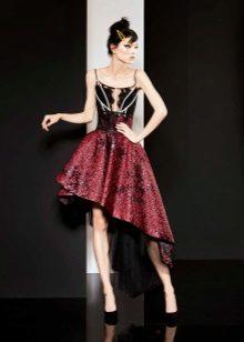 Colored dress by Yolan Chris