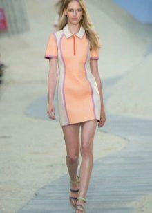 Color dress polo