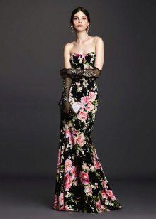 Dress mermaid color