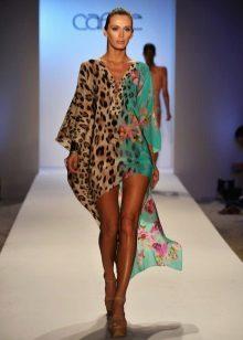 Color dress tunic