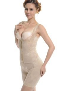 Corrective figure underwear for the dress - overalls