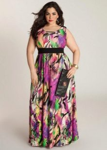 Gekleurde jurk