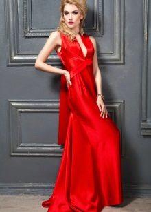 Kırmızı kırmızı elbise