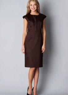 Çikolata renginde elbise