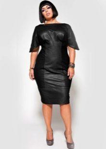 Vestit de cuir per a dones obeses