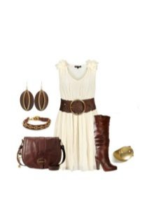 Accessories and decorations for dairy dress