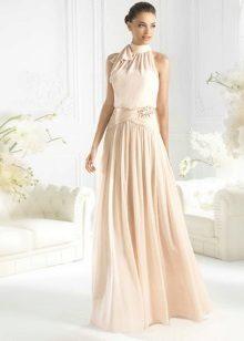 Pale Peach Dress