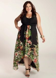 Vestit de cintura alta per a dones obeses