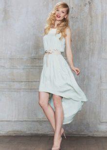 Mint dress short front long back