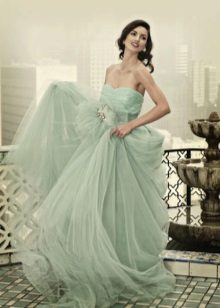 Wedding Mint Dress