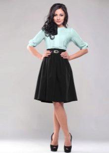 Mint Top Dress