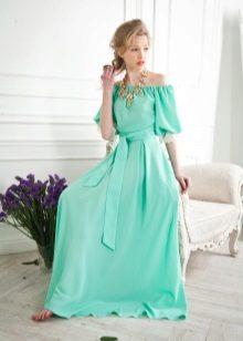 Costume jewelry to mint dress