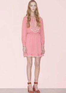 Rochie roz rosie