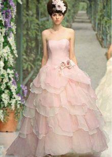 Minunat rochie de mireasa roz