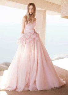 Pantof rosu roz