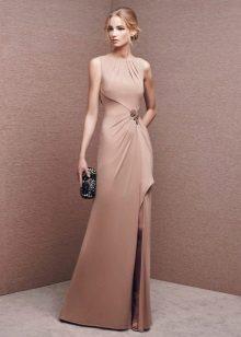 Flesh-colored dress from La Sposa